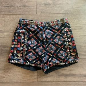Hollister Patterned Shorts